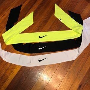 Nike tie headbands